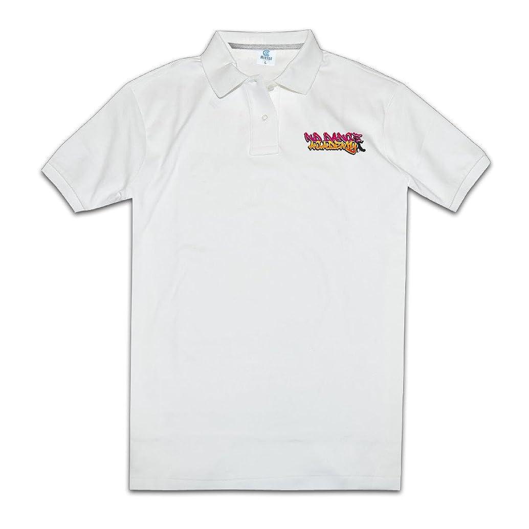Men Performance Golf Polo Shirts I Dance Graffiti Logo Dancing Star