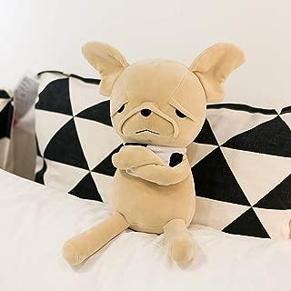 FRANKIEZHOU Stuffed Dog Animal Plush Toy Soft 10