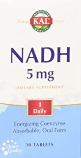 KAL 5 Mg Nadh Tablets, 30 Count