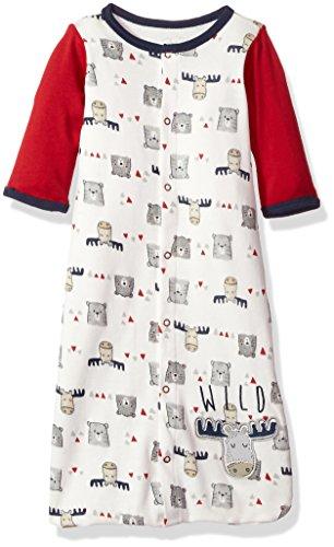 Rene Rofe Baby Kids' Little Newborn Unisex Wearable Blanket, Moose, 0-6 Months