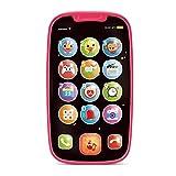 Stone and Clark Mein erstes Smartphone – Handy Baby Spielzeug, für Kleinkinder und Junge Kinder – 15 einzigartige Tasten und Funktionen – für Kinder ab 1 Jahr