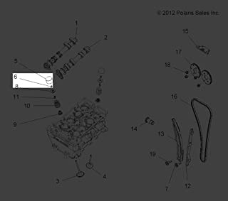Polaris 2011-2013 Rzr Xp 900 Rzr 570 Intl Shim Valve Lash 2 500 3022173-250 New Oem