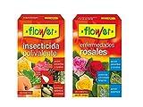 Flower Lote Insecticida polivalente 15ml + Enfermedades de rosales