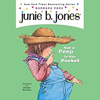 Junie B. Jones Has a Peep in Her Pocket     Junie B. Jones #15              Written by:                                                                                                                                 Barbara Park                               Narrated by:                                                                                                                                 Lana Quintal                      Length: 41 mins     Not rated yet     Overall 0.0