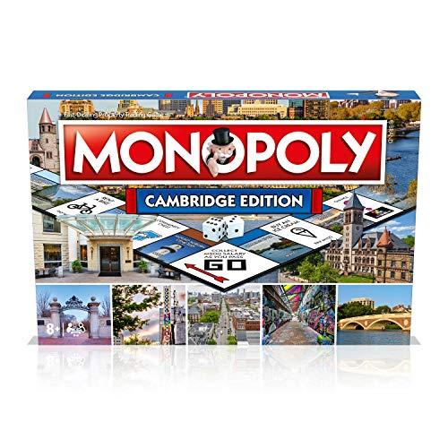 Cambridge Massachusetts MA Monopoly Board Game