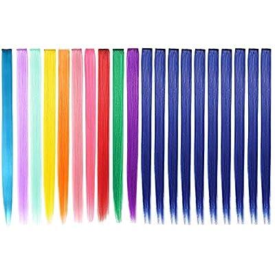 Extensiones de Cabello Colorido