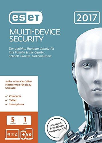 ESET Multi-Device Security 2017 Edition 5 User (FFP)