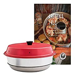 Omnia oven + hearty cookbook