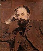 'Xavier Mellery,Portrait Of Paul De Vigne,1845-1921' Oil Painting, 10x12 Inch / 25x30 Cm ,printed On High Quality Polyster Canvas ,this Cheap But High Quality Art Decorative Art Decorative Canvas Prints Is Perfectly Suitalbe For Garage Decor And Home Gallery Art And Gifts