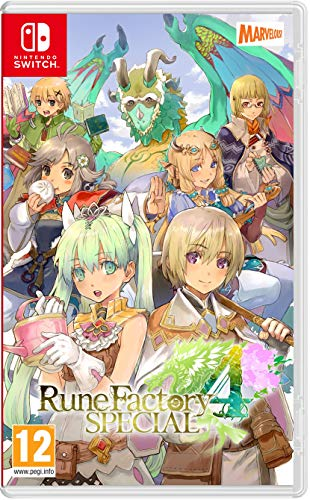 Rune Factory 4 Special Nsw - Nintendo Switch