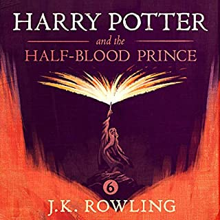 Couverture de Harry Potter and the Half-Blood Prince, Book 6