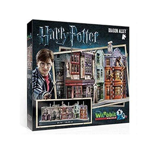 Kw-tool Harry Potter Hogwarts Diagon Alley Wrebbit 3D Jigsaw Puzzle Harry Potter fan's Collection Juguetes para niños 273 Piezas