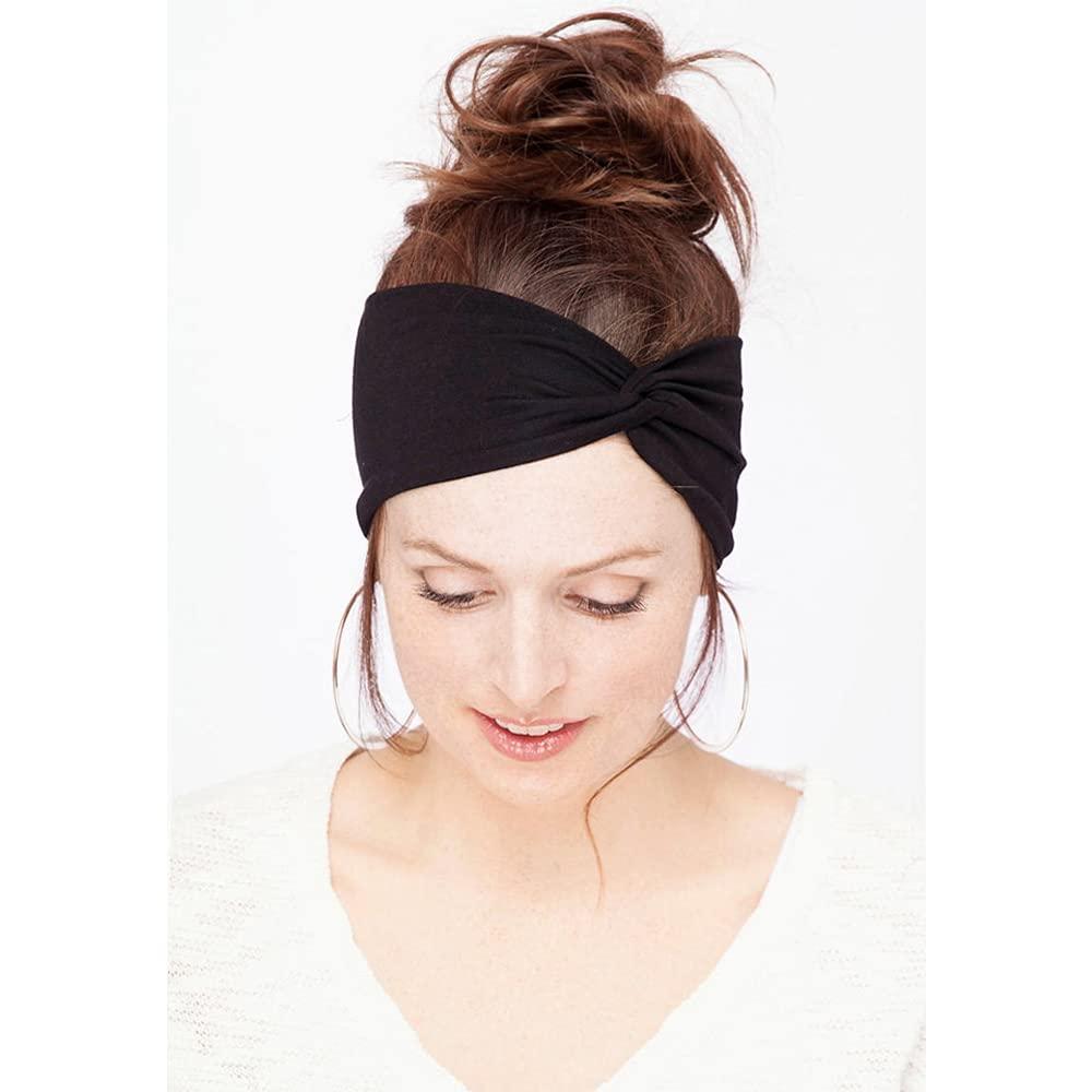 12 Pack Headbands for Women Yoga Elastic Hair Bands Workout Running Sport Non Slip Sweat Hair Wrap for Girls