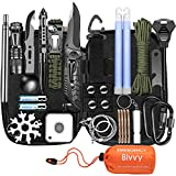 Gifts for Men Dad Husband Fathers Day , Survival Gear and Equipment Emergency Survival Tools Camping Accessories, Christmas Stocking Stuffers Cool Gadgets Ideas for Camper RV Hunting Hiking Fishing