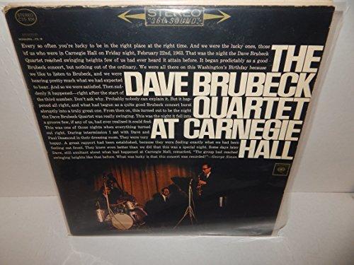 The Dave Brubeck Quartet At Carnegie Hall [2 Vinyl LP Set] [Stereo]