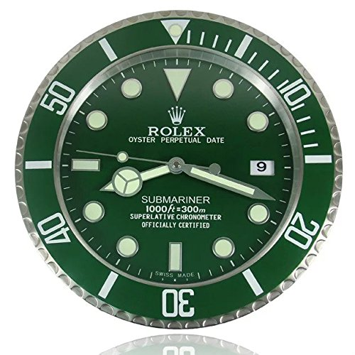 Rolex-Wanduhr Submariner Licht