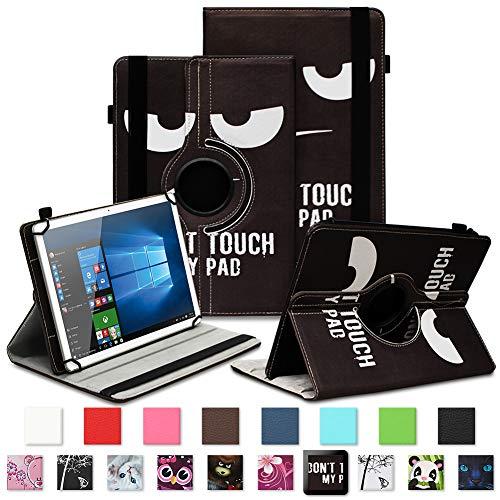 NAUC Lenovo Tab 2 A7-30 - 20-10 Schutzhülle Tasche Standfunktion Hülle Schutz Cover 360° Drehbar Universal Hülle hochwertiges Kunstleder, Farben:Motiv 1