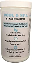 UniSport Swimming Pool & Spa Stain Remover (2 LBS) - Natural & Safe, Works Best for Vinyl Liners, Fiberglass, Metals – Removes Rust & Other Tough Stains Without The Use of Harsh Chemicals