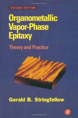 Organometallic Vapor-Phase Epitaxy: Theory and Practice