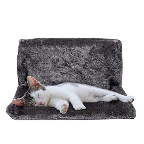 JDXRG Katten Hangmat Kooi Radiator Raam Bed Ligstoel Kogellagers Kussen Verstelbaar Warm Plank Stoel Huis voor Huisdier Katten