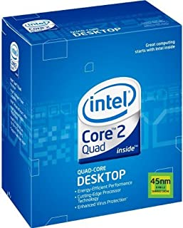 Intel Core 2 Quad Q9400 Processor 2.66 GHz 1333 MHz 6 MB LGA775 EM64T CPU (BX80580Q9400) [並行輸入品]