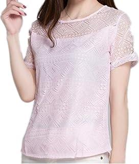 NOBRAND Women Chiffon Blouse Lace Female Shirts Tops Shirt Blouses