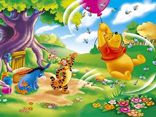 Slbtr Puzzle 1000 Teile 3D Puzzle Winnie The Pooh Poster Album Vi Lernspielzeug Für Erwachsene Kinder DIY Klassische Puzzles Für Wohnkultur, Kinder 75X50Cm