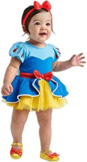 YuDanae Baby Girls Princess Romper Dress with Headband Outfit Costume for Toddler 3-18 Months