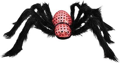 Sharon Church Halloween Horror Prop Decorations Halloween Simulation Plush Spider Decorative