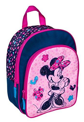 Rucksack mit Vortasche, Disney Minnie Mouse, ca. 31 x 25 x 10 cm