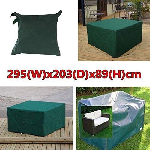 Generic 295x203x89cm Waterproof Garden Outdoor Furniture Dust Cover Table Shelter
