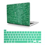 HRH 2 in 1 Olympische Mathematik PC Kunststoff Hartschale Cover & Silikon Tastatur Cover für MacBook Pro 16 Zoll mit Touch Bar & Touch ID Hülle A2141 2019 Release