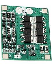 Placa PCB BMS, placa de carga de batería de 12 V, 40 A, aleta de aluminio grueso, placa de protección de celda 3S para batería de iones de litio con carga eléctrica de equilibrio