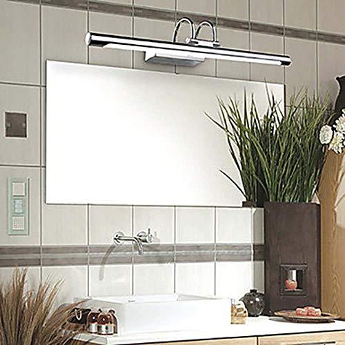 Warm Langer Streifen Zylindrische PVC-Edelstahl LED Spiegel Licht Acryl 7W Badezimmer Wandleuchte Make-up Lampe Illuminate Ihr Zuhause