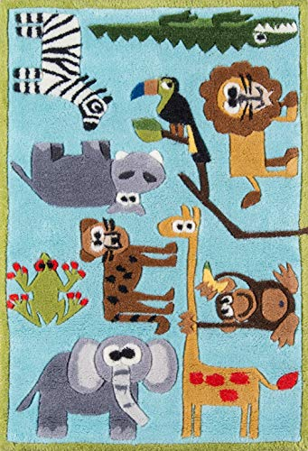 Product Image of the Momeni Rugs Lil' Mo Whimsy