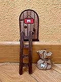 Puerta Ratón Pérez mágica. Regalo original niño niña Ratoncito Pérez. Hecho a mano en España