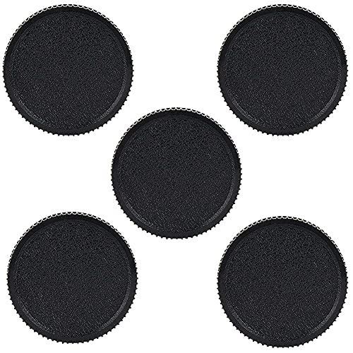 5pcs Copriobiettivo copriobiettivo Posteriore Copriobiettivo per Leica L39 per Zenit M39 Obiettivi per Fotocamera con Montaggio a Vite 39mm