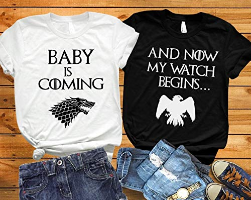 Baby Is Coming Game Of Thrones Inspired Pregnancy Announcement Shirts