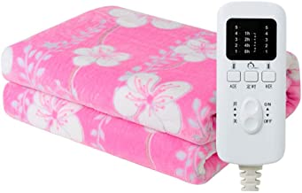 Electric Blanket, Double Double Temperature Control Household 1.8 Meters 2 Three People Smart Timing to Increase Dehumidif...