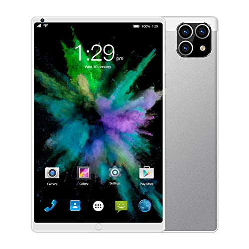 SSSY 8 Inch Tablets, Android 6.0 Tablet, Quad-Core Processor Tablet, 1GB RAM, 16GB Storage Support 2G Wi-Fi 2MP+5MP Dual Camera,FM,GPS, 1280x800 IPS Full HD Display