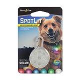 Nite Ize SpotLit LED Collar Light, Carabiner Clip Light for Keys + Pets, Glows + Flashes
