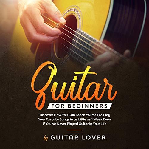Guitar for Beginners audiobook cover art