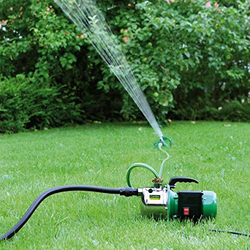 Gartenpumpe Garden Feelings Edelstahlgehäuse 1000 W 4,5 bar, 4600 l/h + 4 m Saugschlauch