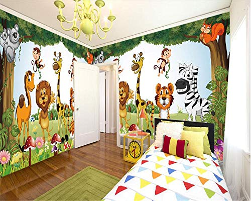 Hermosa decoración interior elegante papel de pared vector sala de niños tridimensional fondo de casa completa fondo de pantalla 3d 400×280cm