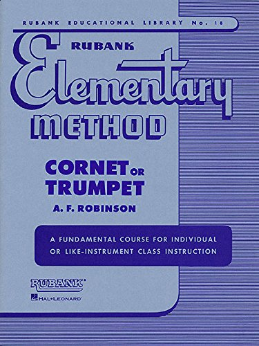 cheap Rubank's rudimentary method – cornet or trumpet (Rubank Education Library)