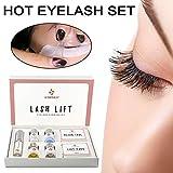 Monlook Premium Pestañas Permanente Kit, Mini Kit Lifting Rizado Set, Set Compresas Cilios Potenciador Línea Pegamento Ojos Maquillaje Herramienta