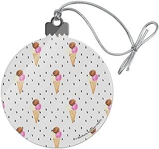 GRAPHICS & MORE Ice Cream Waffle Cones Acrylic Christmas Tree Holiday Ornament