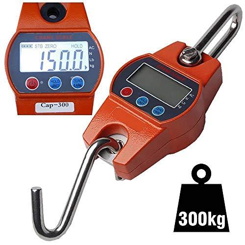 Balança suspensa digital precisão de gancho 300 Kg CBRN02665