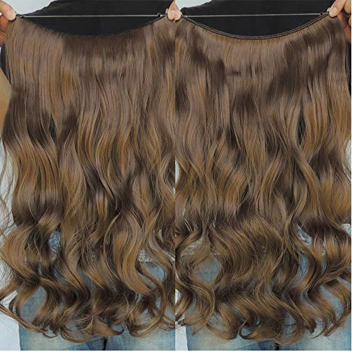 """Secret Halo Hair Extensions Flip in Curly Wavy Hair Extension Synthetic Women Hairpieces 20"""" (20 Inch, #10)"""