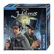 Das etwas andere Holmes-Spiel für Zwei: Sherlock Holmes im Duell mit Professor Moriarty Autor: Diego Ibanez Spieldauer: 30 Minuten Spieleranzahl: 2 Spieler Empfohlenes Alter: ab 10 Jahren